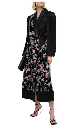 Женское платье из вискозы ULYANA SERGEENKO черного цвета, арт. ABM002FW20P(1509т20) | Фото 2