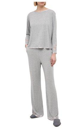 Женская пижама I.D. SARRIERI серого цвета, арт. L9506-L9570 | Фото 1