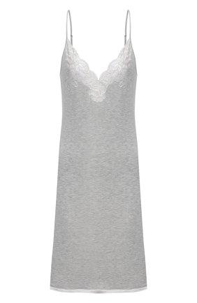 Женская сорочка I.D. SARRIERI серого цвета, арт. L9540 | Фото 1