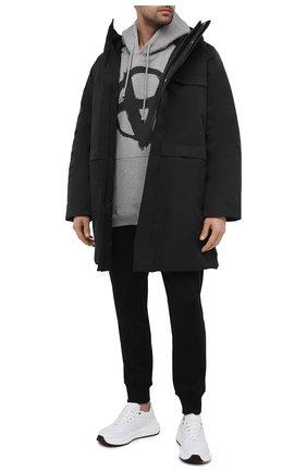 Женский хлопковое худи VETEMENTS серого цвета, арт. UE51TR650G 1601/M | Фото 2