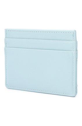 Женский кожаный футляр для кредитных карт DOLCE & GABBANA голубого цвета, арт. BI0330/AV967 | Фото 2