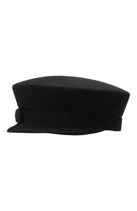 Женская кепи BALMAIN черного цвета, арт. UF1A034/A020 | Фото 2