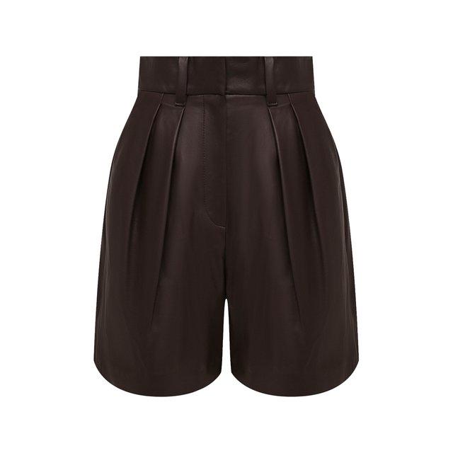 Кожаные шорты Brunello Cucinelli
