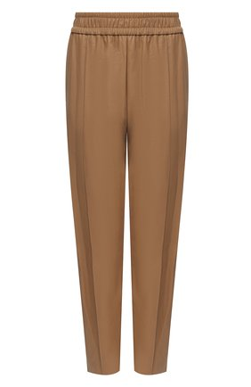 Женские брюки из экокожи NUDE бежевого цвета, арт. 1103029/TR0USERS | Фото 1