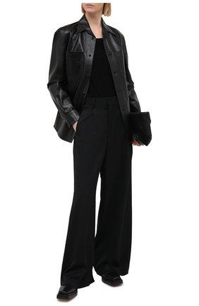 Женская лонгслив GIORGIO ARMANI черного цвета, арт. 3KAM72/AJFZZ | Фото 2