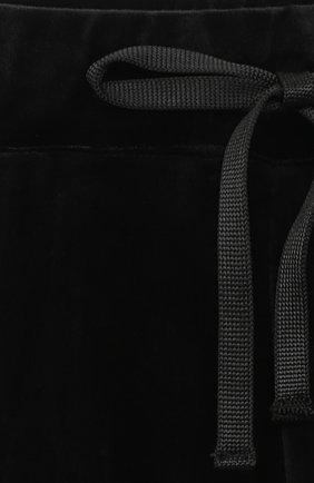 Детские брюки CASILDA Y JIMENA черного цвета, арт. 771160007   Фото 3 (Девочки Кросс-КТ: Брюки-одежда; Материал внешний: Синтетический материал; Ростовка одежда: 10 - 11 лет   140 - 146см, 12 лет   152 см, 6 лет   116 см, 8 лет   128 см)