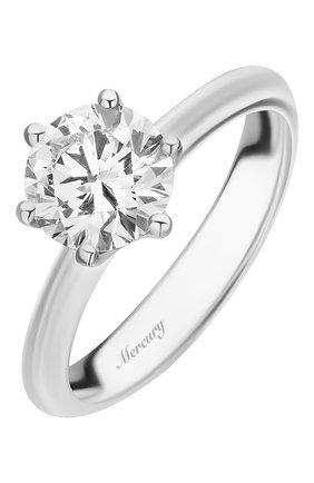 Женские кольцо MERCURY бесцветного цвета, арт. MR150/6WRD | Фото 1