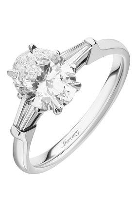 Женские кольцо MERCURY бесцветного цвета, арт. MR150WODB | Фото 1