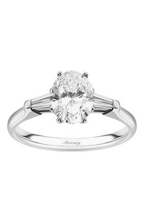Женские кольцо MERCURY бесцветного цвета, арт. MR150WODB | Фото 2