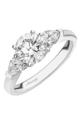 Женские кольцо MERCURY бесцветного цвета, арт. MR150WRDP | Фото 1