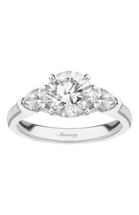 Женские кольцо MERCURY бесцветного цвета, арт. MR150WRDP | Фото 2
