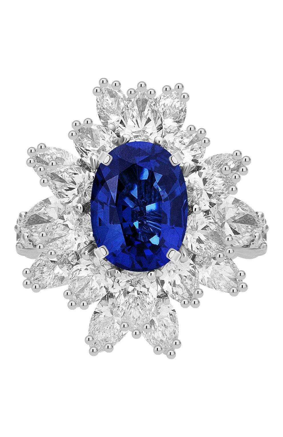 Женские кольцо MERCURY бесцветного цвета, арт. MR19336WS | Фото 3 (Материал сплава: Белое золото; Драгоценные камни: Бриллианты)