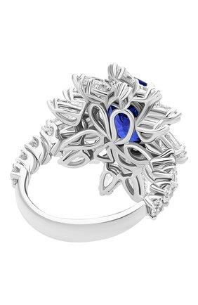 Женские кольцо MERCURY бесцветного цвета, арт. MR19336WS | Фото 4 (Материал сплава: Белое золото; Драгоценные камни: Бриллианты)
