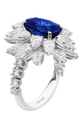 Женские кольцо MERCURY бесцветного цвета, арт. MR19336WS | Фото 5 (Материал сплава: Белое золото; Драгоценные камни: Бриллианты)