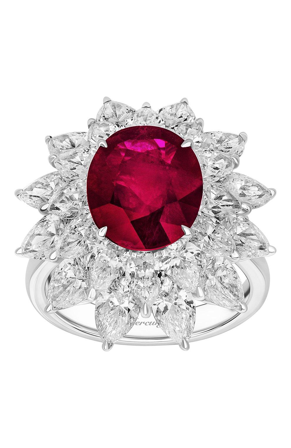 Женские кольцо MERCURY бесцветного цвета, арт. MR19879WR   Фото 2