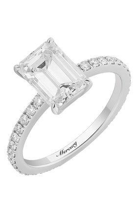 Женские кольцо MERCURY бесцветного цвета, арт. MR200WEDD | Фото 1