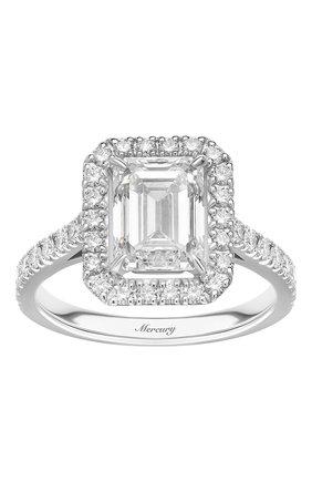 Женские кольцо solitaire MERCURY бесцветного цвета, арт. MR200WERD | Фото 2