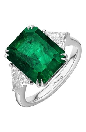 Женские кольцо MERCURY бесцветного цвета, арт. MR20431WET | Фото 1 (Материал сплава: Белое золото; Драгоценные камни: Бриллианты)