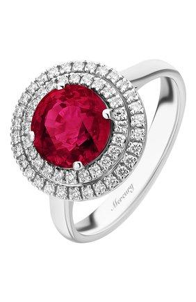 Женские кольцо MERCURY бесцветного цвета, арт. MR23364WR | Фото 1