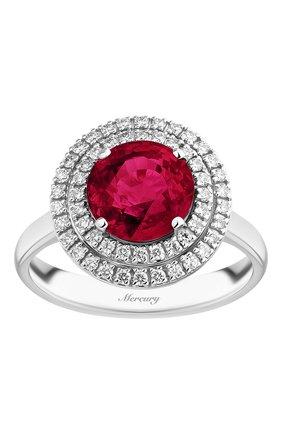 Женские кольцо MERCURY бесцветного цвета, арт. MR23364WR | Фото 2