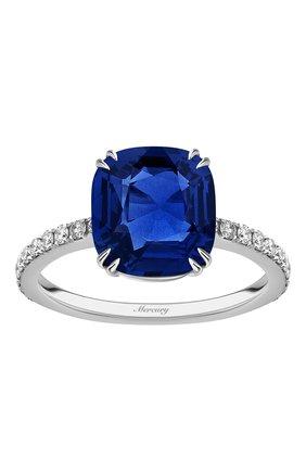 Женские кольцо MERCURY бесцветного цвета, арт. MR23653WS | Фото 2