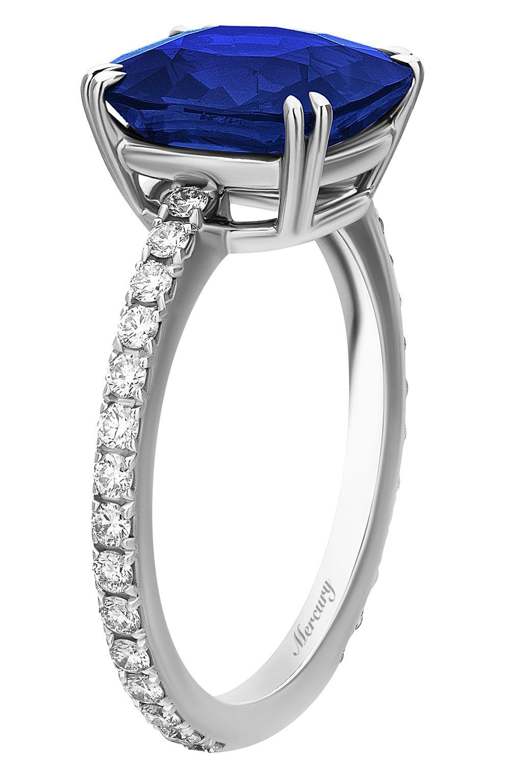 Женские кольцо MERCURY бесцветного цвета, арт. MR23653WS | Фото 5
