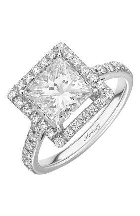 Женские кольцо solitaire MERCURY бесцветного цвета, арт. MR250WPRD | Фото 1