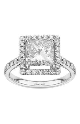 Женские кольцо solitaire MERCURY бесцветного цвета, арт. MR250WPRD | Фото 2