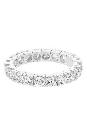 Женские кольцо MERCURY бесцветного цвета, арт. MR3279/WG/1RD0.10 | Фото 2 (Материал сплава: Белое золото; Драгоценные камни: Бриллианты)