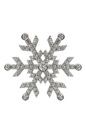 Женская брошь rime DZHANELLI серебряного цвета, арт. 0255 | Фото 1