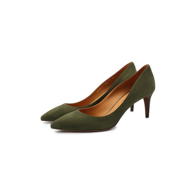 Замшевые туфли Ralph Lauren