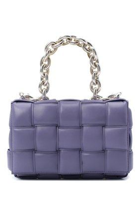 Женская сумка chain cassette BOTTEGA VENETA сиреневого цвета, арт. 631421/VBWZ0 | Фото 1