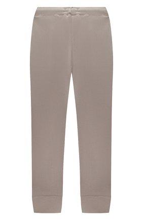 Детские бархатные брюки CASILDA Y JIMENA серого цвета, арт. 771160019 | Фото 2