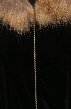 Детский бархатный кардиган CASILDA Y JIMENA черного цвета, арт. 771164007 | Фото 3 (Рукава: Длинные; Материал внешний: Синтетический материал; Девочки Кросс-КТ: Кардиган-одежда; Ростовка одежда: 10 - 11 лет | 140 - 146см, 12 лет | 152 см, 6 лет | 116 см, 8 лет | 128 см)