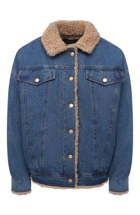 Женская джинсовая куртка J BRAND синего цвета, арт. JB003095   Фото 1