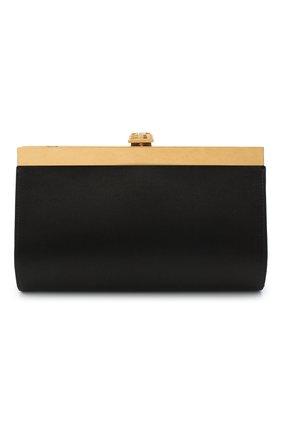 Женский клатч BALMAIN черного цвета, арт. VN1S626/TRAS | Фото 1