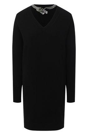 Женское шерстяное платье NUDE черного цвета, арт. 1101067/DRESS | Фото 1