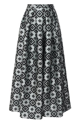 Женская юбка GIORGIO ARMANI голубого цвета, арт. 1SHNN04L/T029V | Фото 1