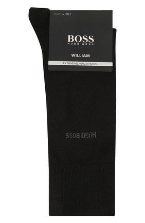 Мужские носки BOSS черного цвета, арт. 50388417 | Фото 1