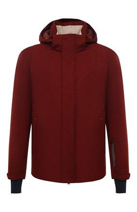 Мужская куртка из кашемира и шелка LORO PIANA бордового цвета, арт. FAI8953 | Фото 1