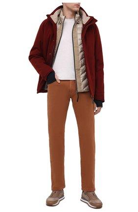 Мужские джинсы LORO PIANA коричневого цвета, арт. FAG1329 | Фото 2