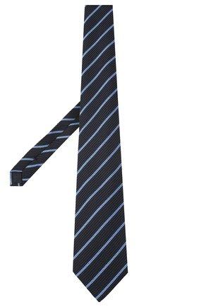 Мужской шелковый галстук TOM FORD темно-синего цвета, арт. 9TF31/XTF | Фото 2