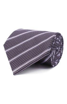 Мужской шелковый галстук TOM FORD фиолетового цвета, арт. 9TF31/XTF | Фото 1