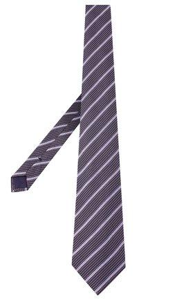 Мужской шелковый галстук TOM FORD фиолетового цвета, арт. 9TF31/XTF | Фото 2