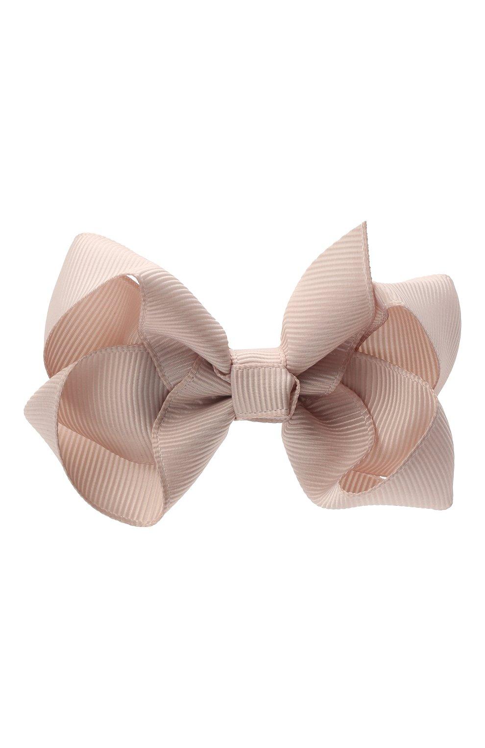 Детская заколка-зажим boutique bow MILLEDEUX бежевого цвета, арт. 818-CGC-02   Фото 1