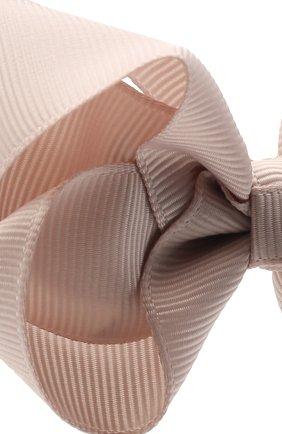 Детская заколка-зажим boutique bow MILLEDEUX бежевого цвета, арт. 818-CGC-02   Фото 3