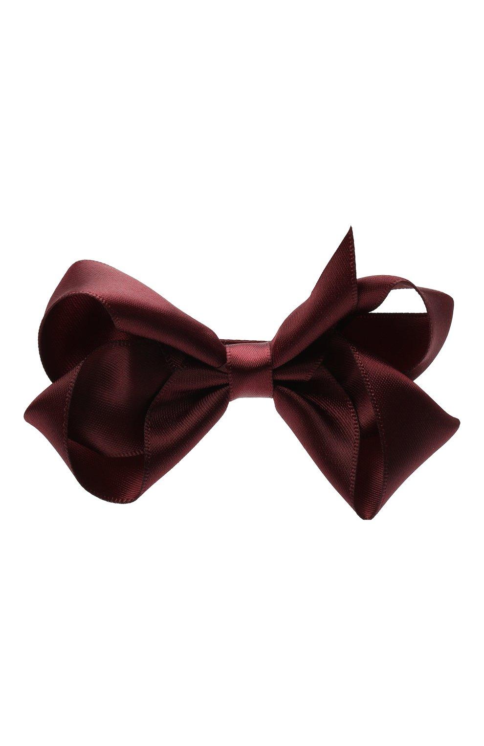 Детская заколка-зажим boutique bow MILLEDEUX фиолетового цвета, арт. 277-SC-02 | Фото 1
