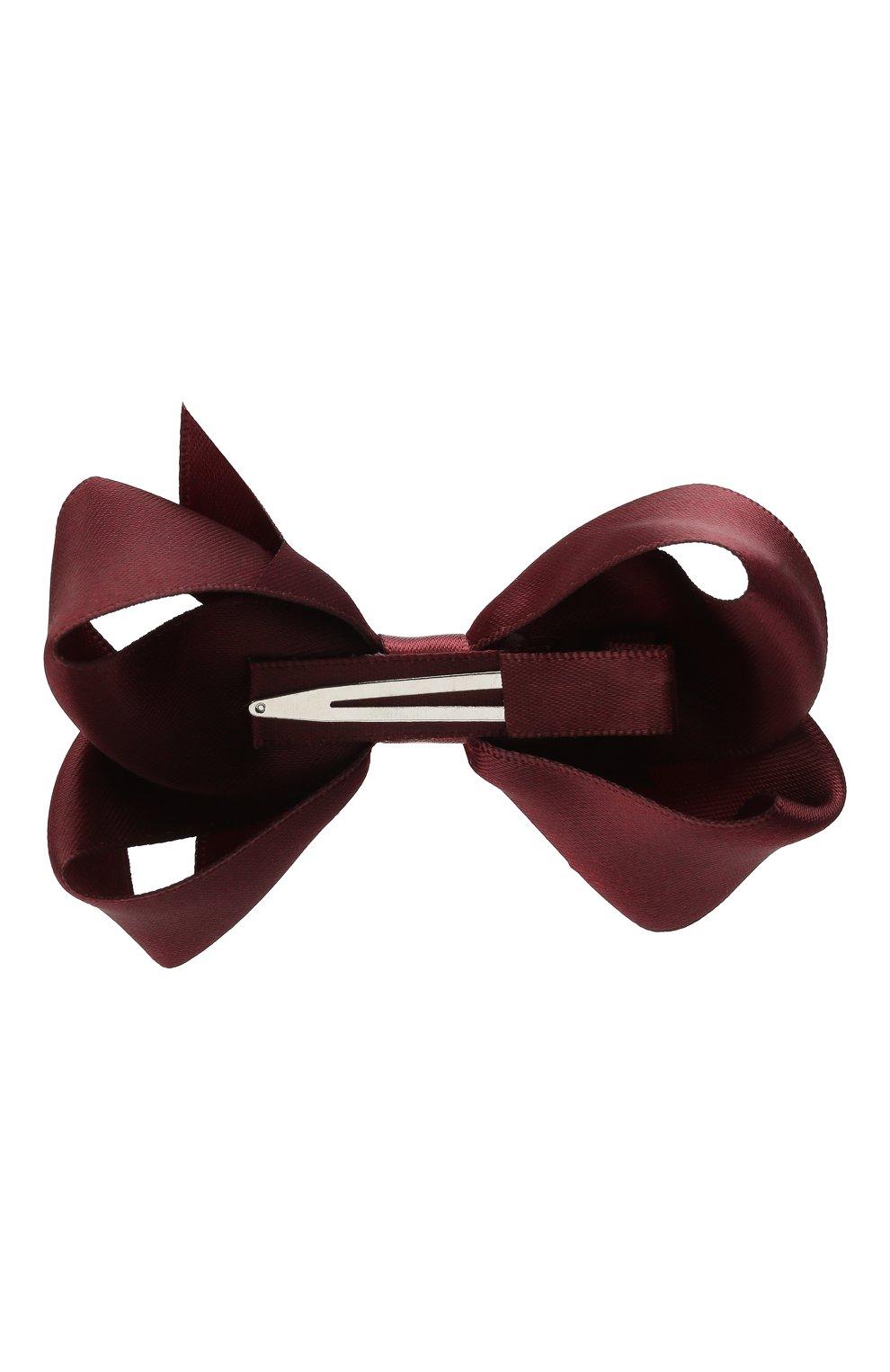 Детская заколка-зажим boutique bow MILLEDEUX фиолетового цвета, арт. 277-SC-02 | Фото 2