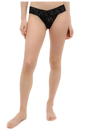 Женские трусы-стринги HANKY PANKY черного цвета, арт. 4911 | Фото 2