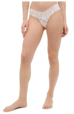 Женские трусы-стринги HANKY PANKY белого цвета, арт. 4911 | Фото 2